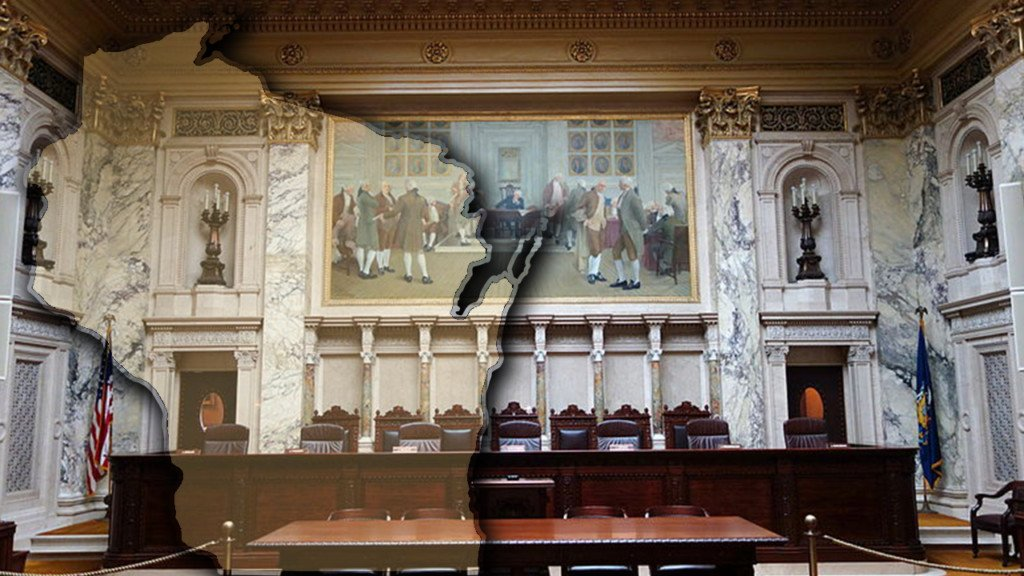 Justices considering how records law applies to courts