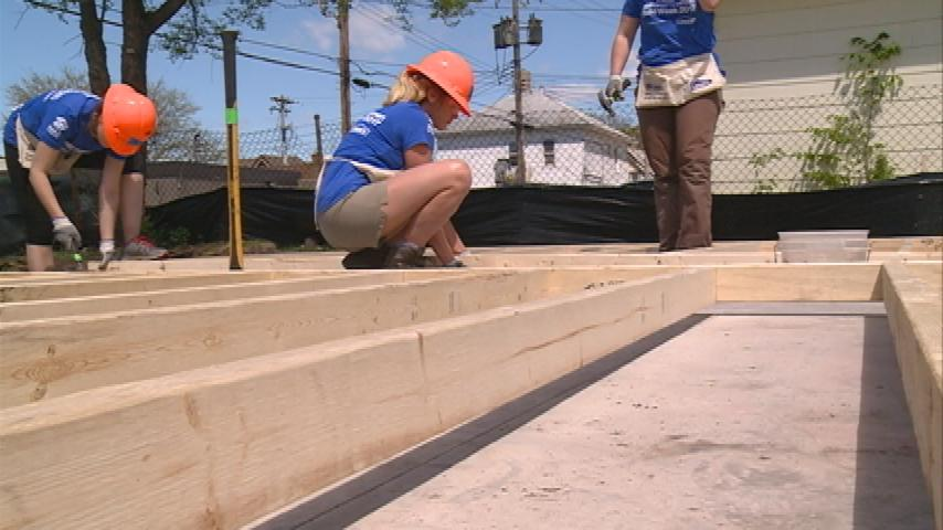 National Women Build Week helps empower women to build homes
