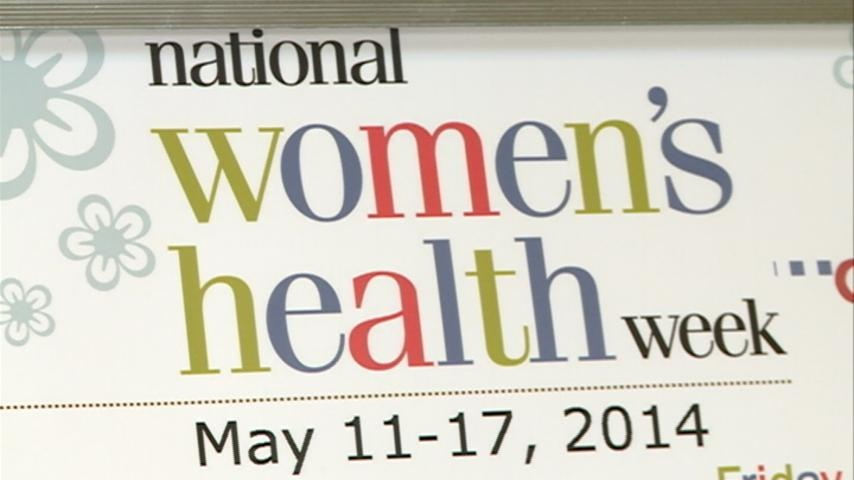 Women's Health Week kicks off