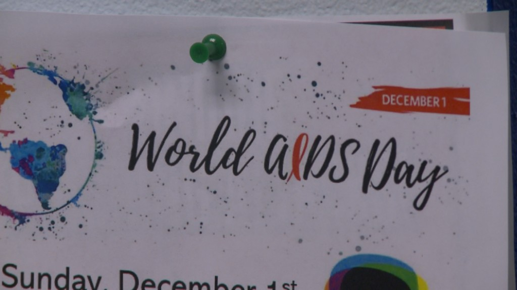 People are showing their support for World AIDS Day