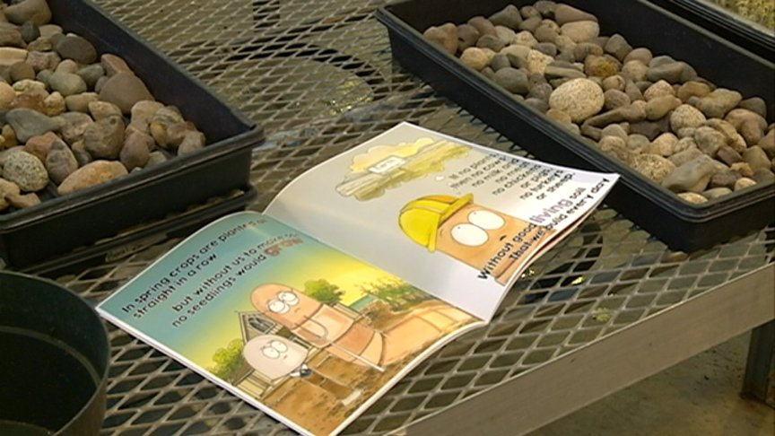 Local students learn about soil health