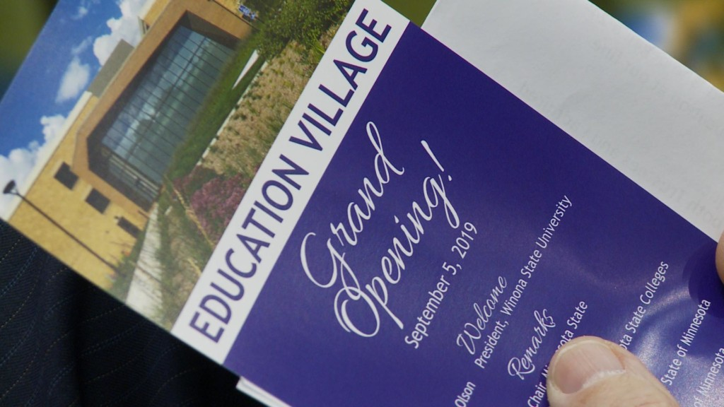 Grand Opening held for Winona State University's 'Education Village'