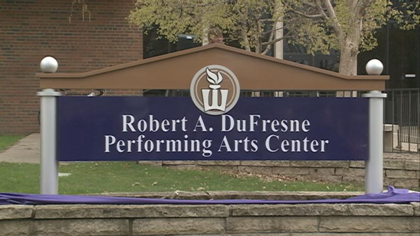 Winona State dedicates Performing Arts Center, honoring former WSU President