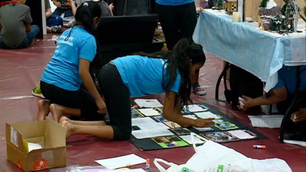 Students compete in international problem solving competition
