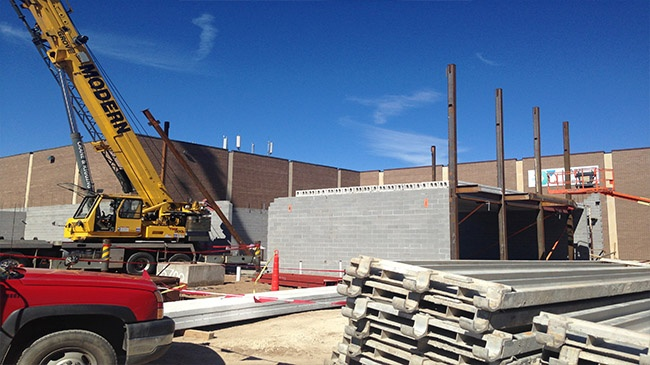 2 workers suffer non-life threatening injuries after YMCA construction accident