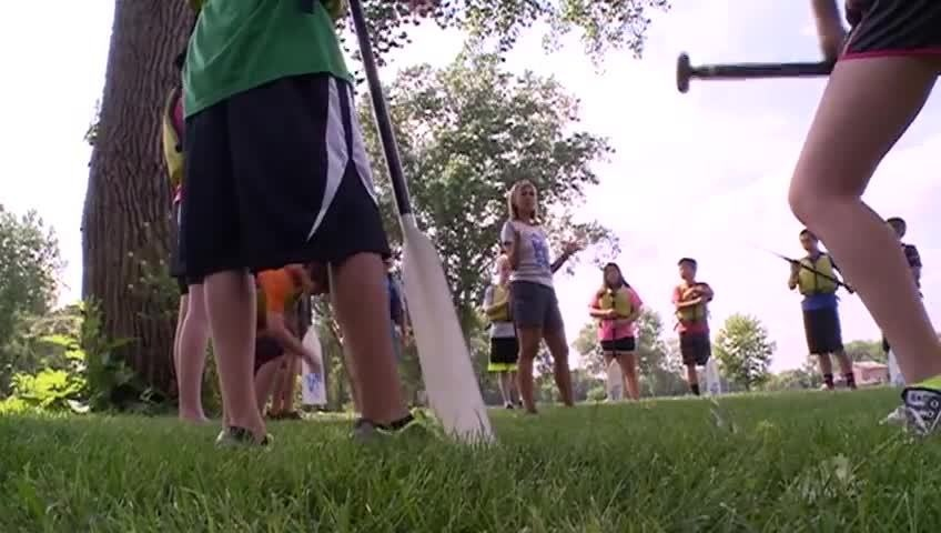 Youth Dragon Boat Program teaches teens teamwork