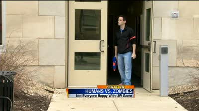 'Zombies' game blamed for two UW campus gun reports
