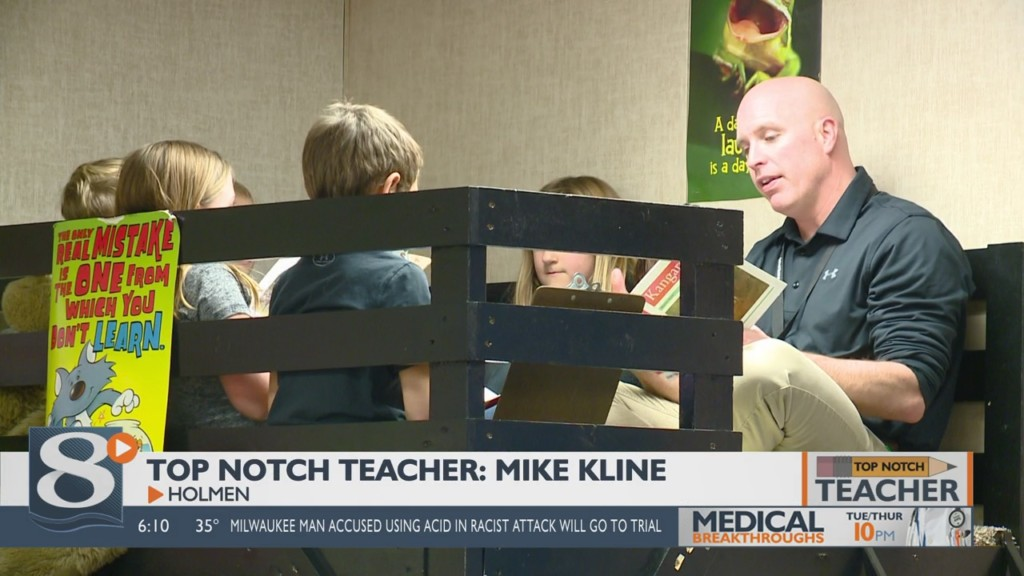 January 2020 Top Notch Teacher: Mike Kline