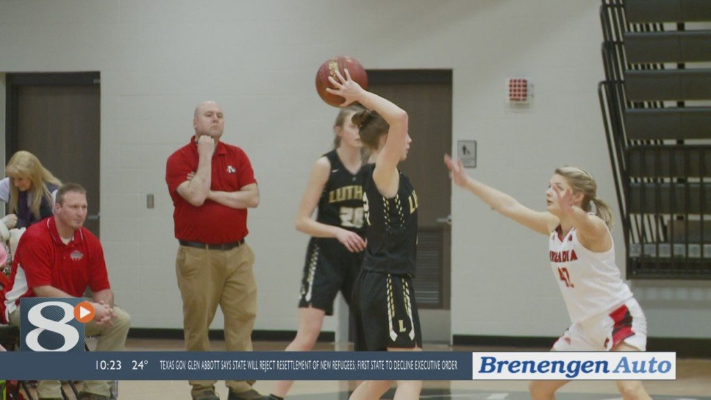 Arcadia girls basketball bests Luther at home, 59-33