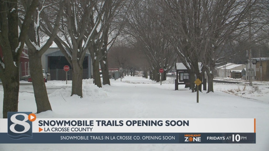 Snowmobile trails opening soon