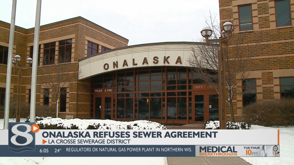 Onalaska refuses district agreement for sewer services