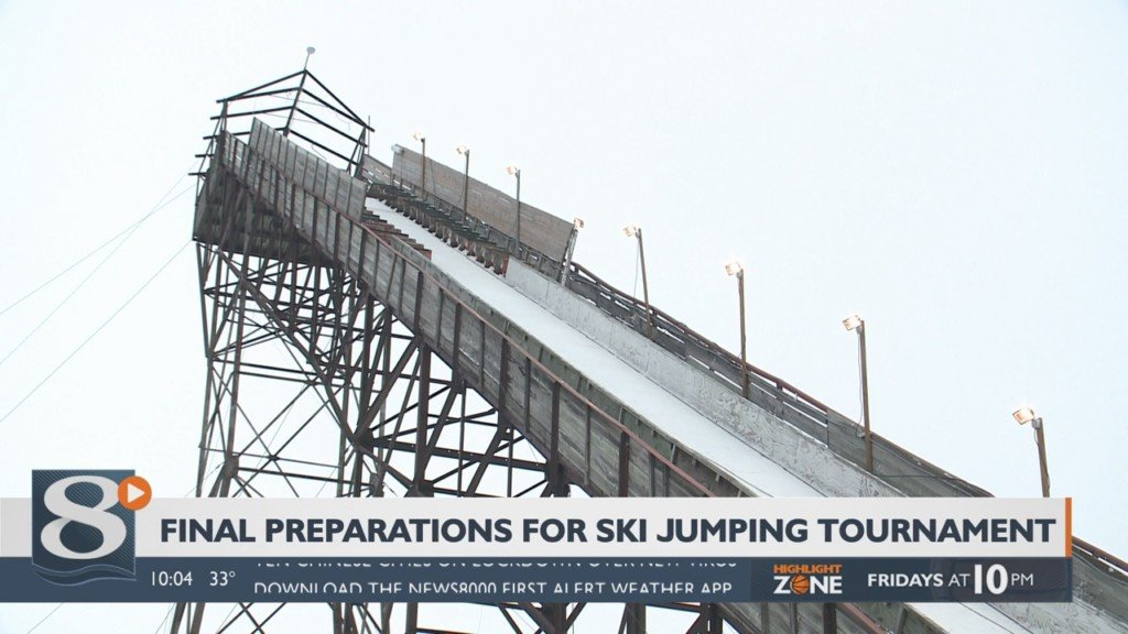 Final preparations underway for Westby Ski Jump tournament