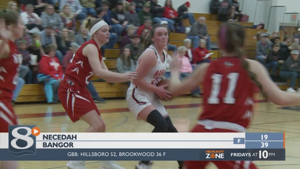 Bangor girls stay perfect in conference, 39-19 over Necedah