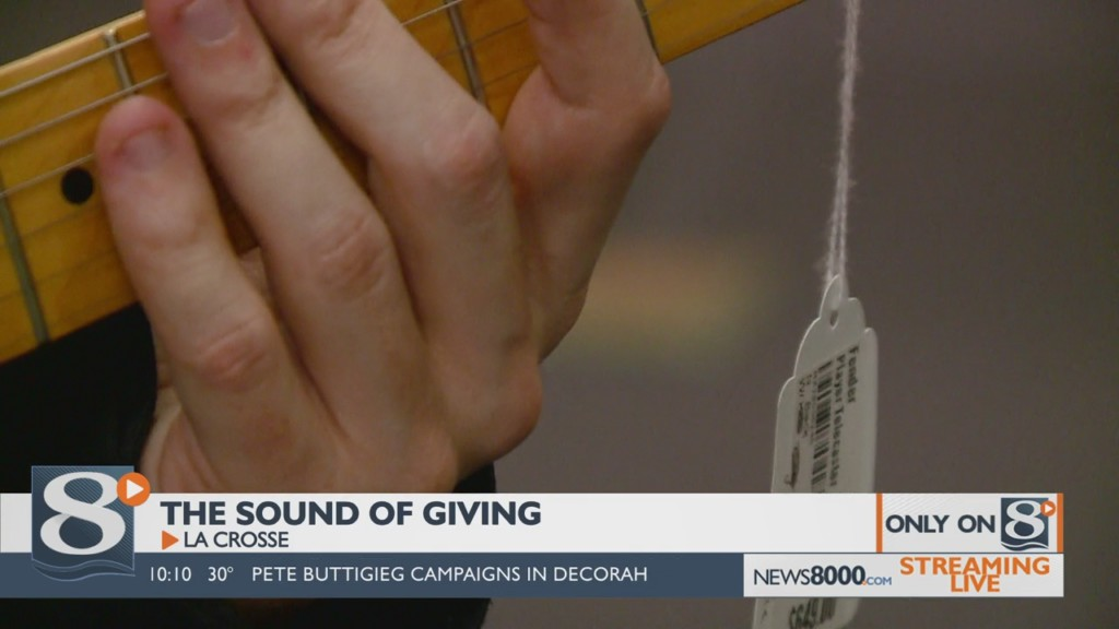 Only On News 8 Now: The Sound of Giving