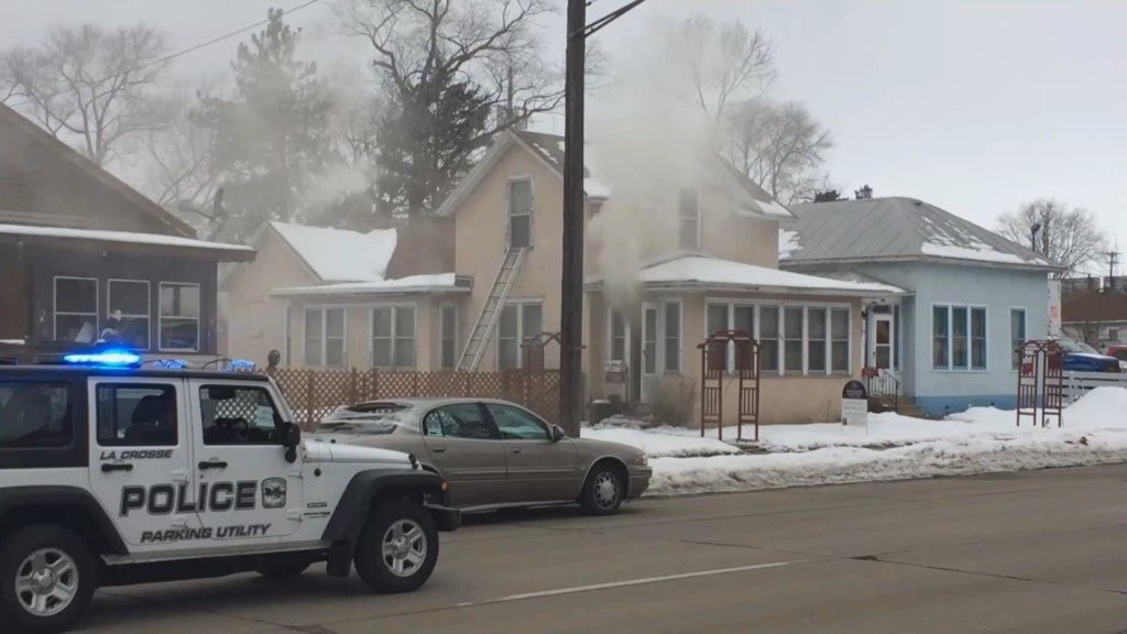 Rose St. house fire