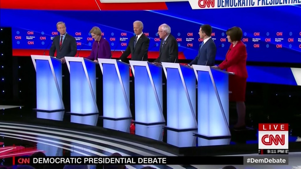Democratic debate 1/14/20