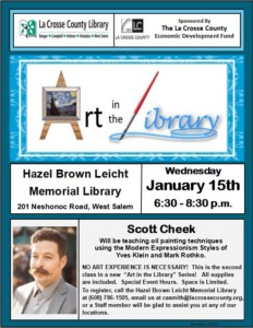 Art in the Library Oil Painting Class @ Hazel Brown Leicht Memorial Library |  |  |
