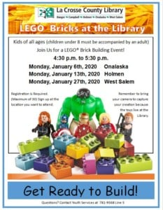 Lego Brick Building Event @ Hazel Brown Leicht Memorial Library