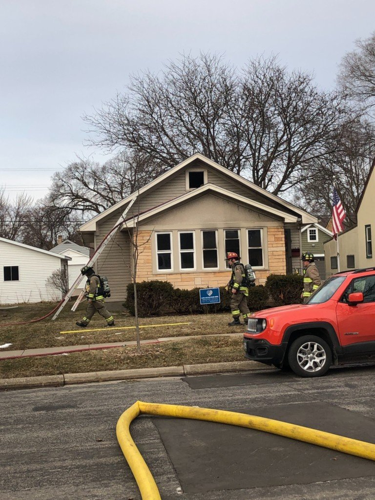 firefighters at home on winnebago