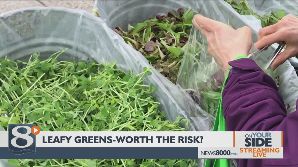 On Your Side 2/10/2020 – Leafy Greens & Bacteria