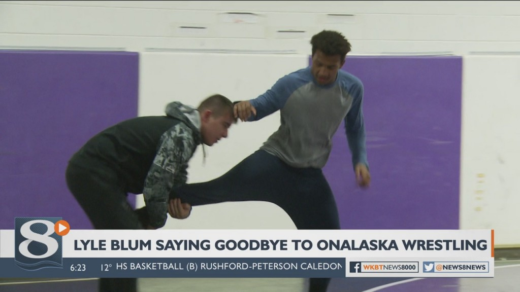 Outgoing Onalaska/Luther wrestling coach Blum cherishes passion for the sport