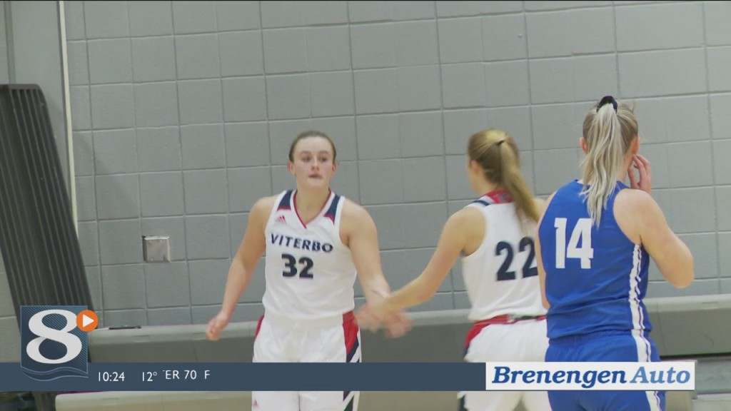 News 8 Now Highlight Zone 2/14/2020 – Viterbo Basketball