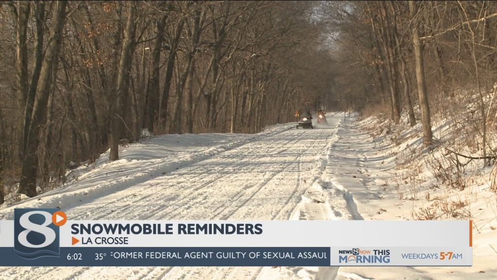 Snowmobilers asked to be considerate out on the trails
