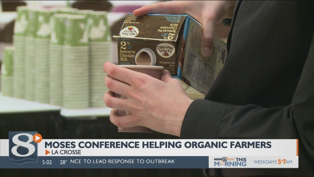 Former Westby Organic Dairy Farmer Volunteering At Moses Conference