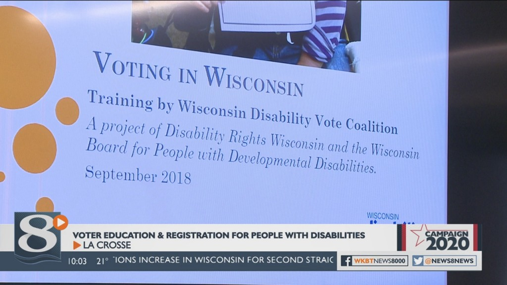 Local Event Helps People With Disabilities Prepare For Elections