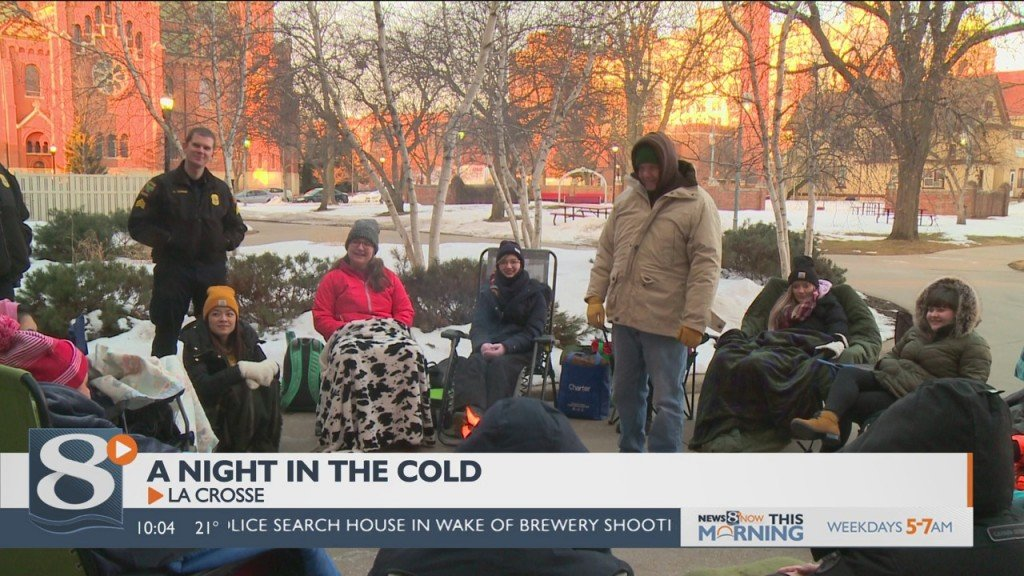 Local College Students Experience What It's Like To Be Homeless In The Winter