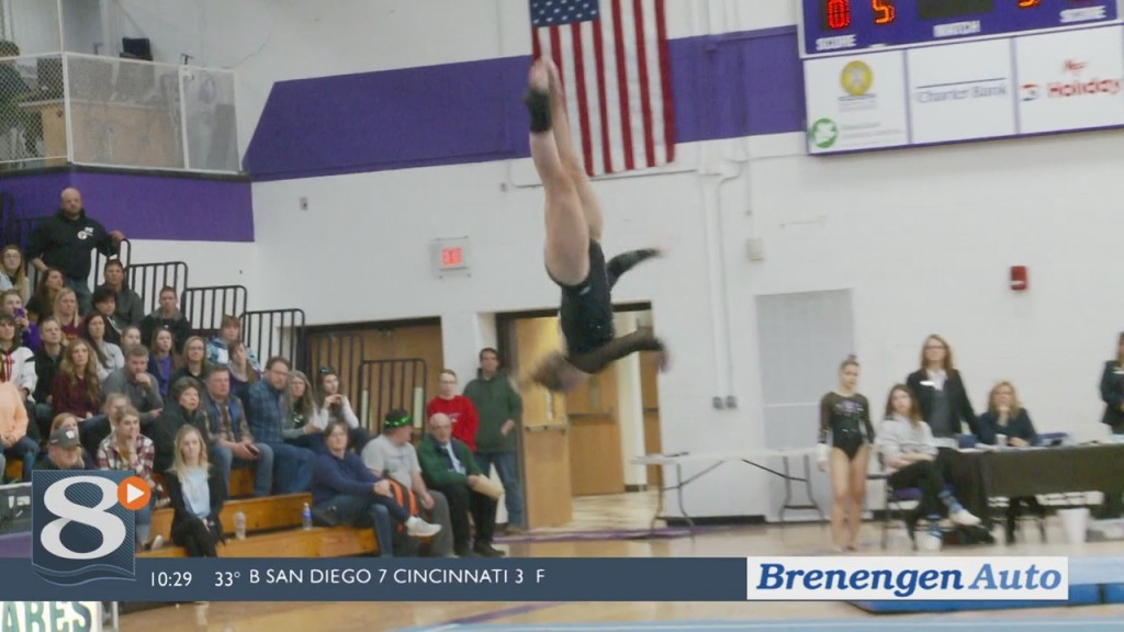 Wiaa Sectional Gymnastic Highlights