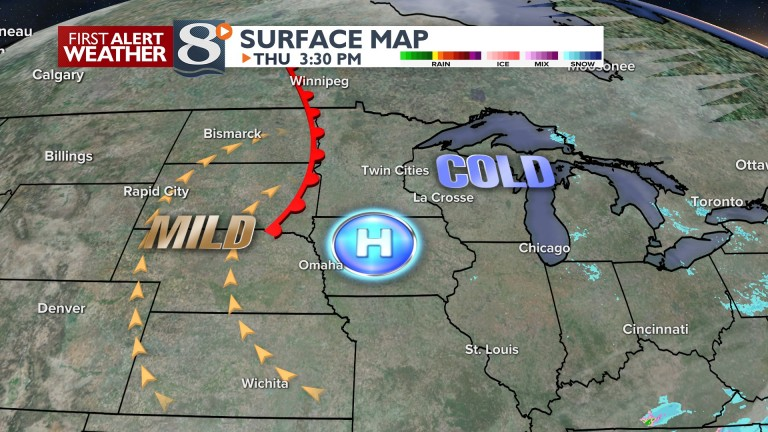 Warmer Air on the Way