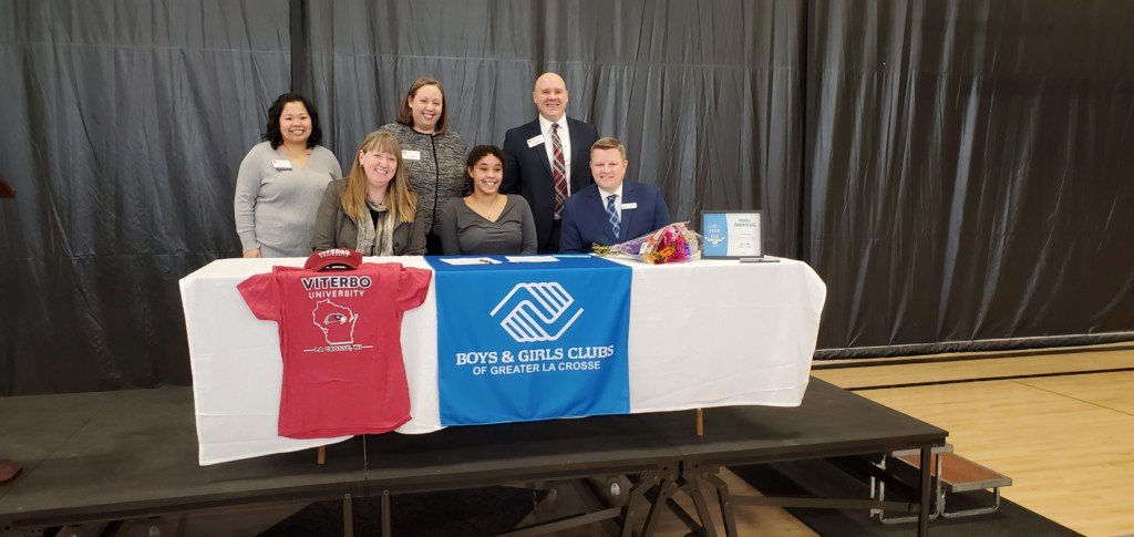 Viterbo, Boys and Girls Clubs scholarship