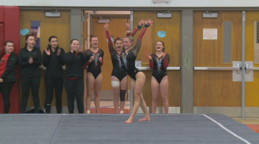Coulee gymnastics