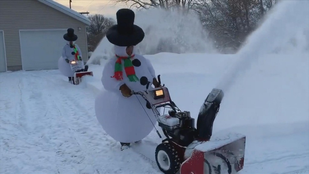 Snowman snowblowers