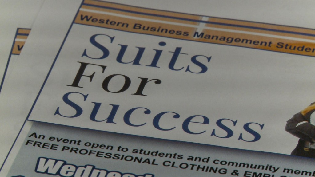 Suits for Success Donations Needed