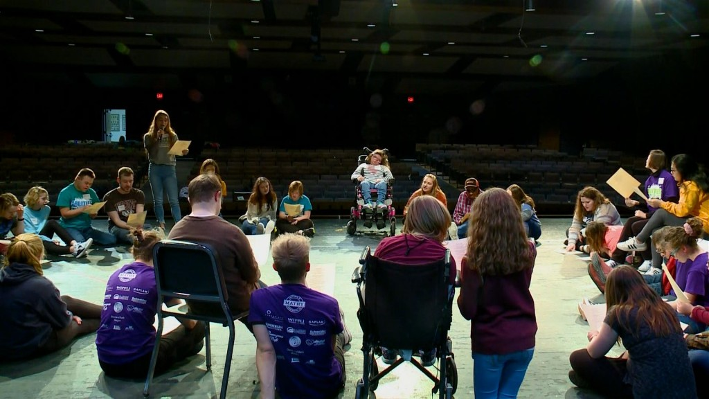 Abilities in Harmony Adaptive Show Choir camp