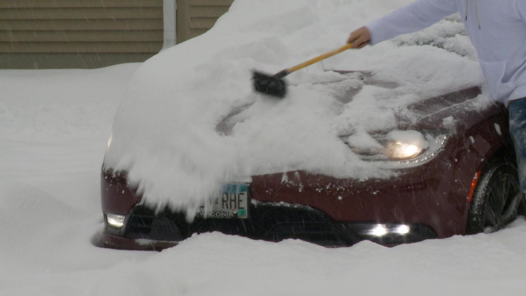 car snow removal