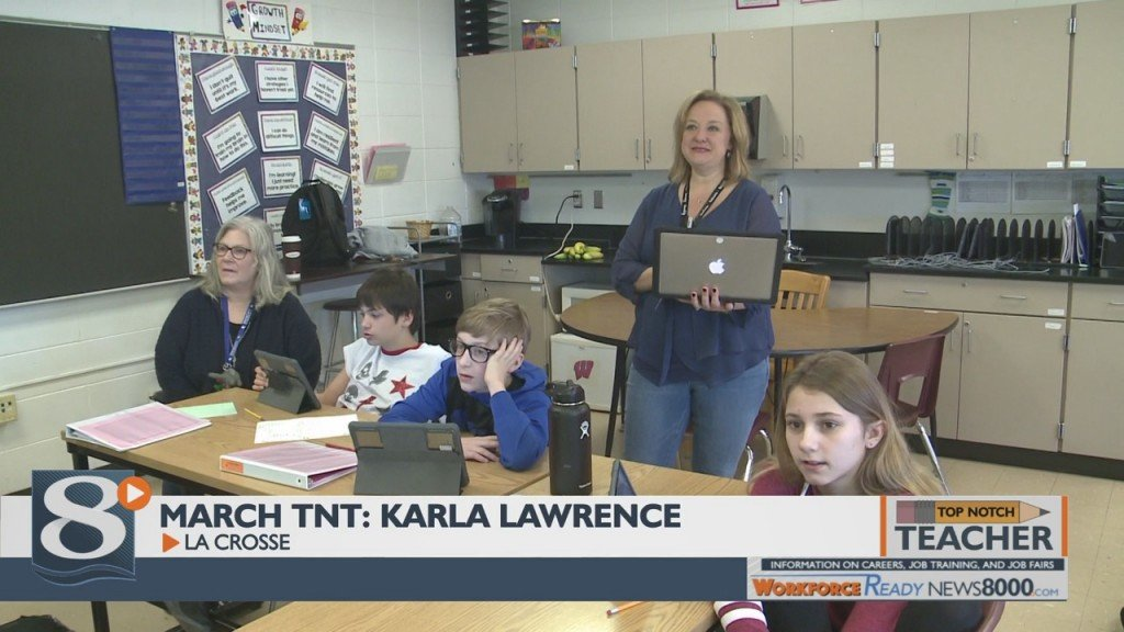 Top Notch Teacher March 2020: Karla Lawrence