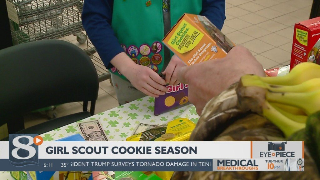 News 8 Now Eye Piece: Girl Scout Cookie Season