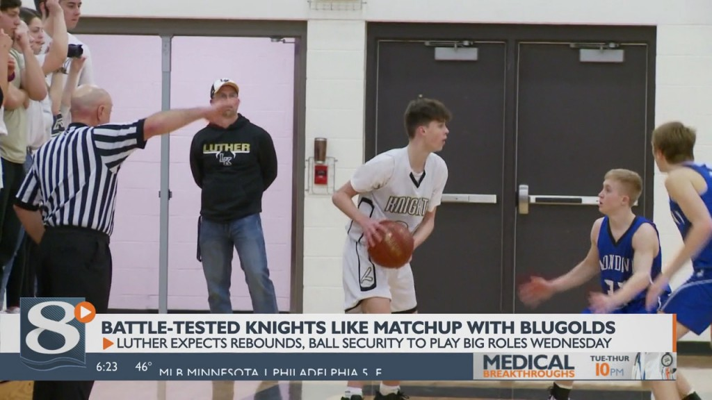 Battle Tested Knights Like Matchup With Blugolds