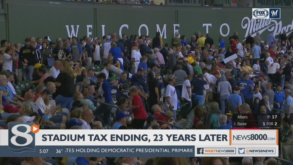 Miller Park Stadium Tax Ends After 23 Years