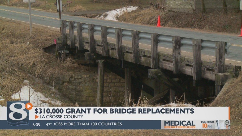 3 La Crosse Co. Bridges To Be Reconstructed Using One Time State Grant