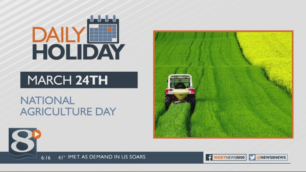 Daily Holiday National Agriculture Day