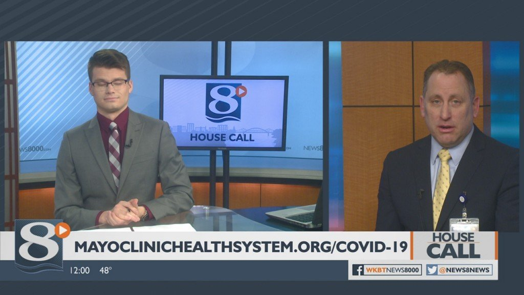 House Call Impact Of Drive In Testing For Coronavirus At Mayo In La Crosse