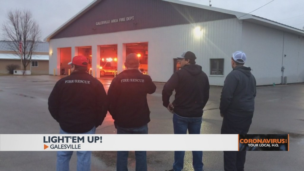 Local Fire Departments Show Sign Of Solidarity During These Difficult Times