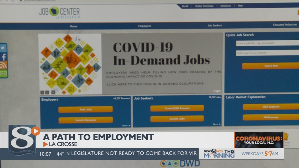 Local And State Leaders Urging Those Out Of Work To Keep Job Searching