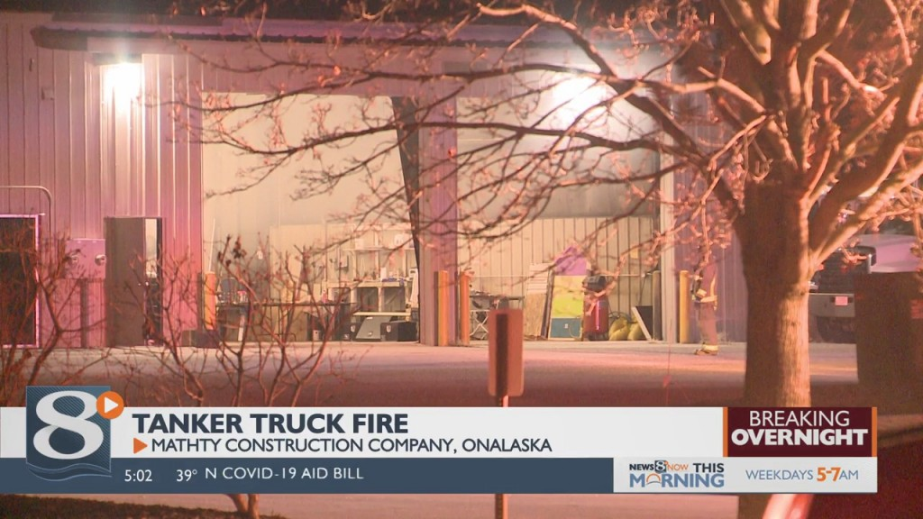 Overnight Truck Fire In Onalaska