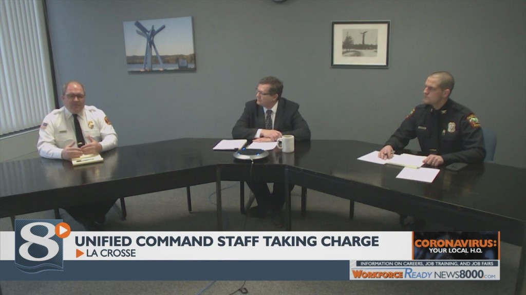 Unified Command Staff Taking Charge To Address Coronavirus Concerns