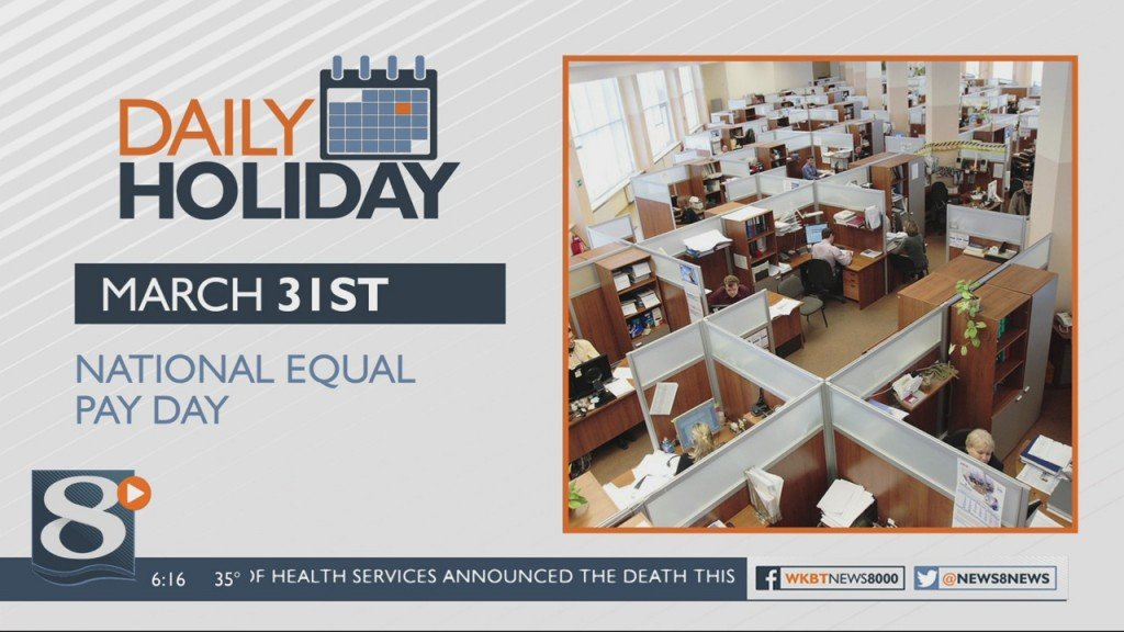Daily Holiday National Equal Pay Day